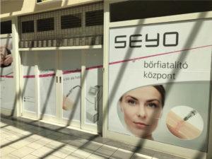 Seyo- szelíd bőrfiatalítás üzlet dekoráció