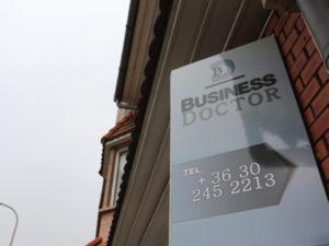 Business Doctor üzlet dekoráció