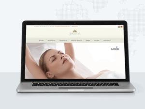 Varga Éva Babor weblap