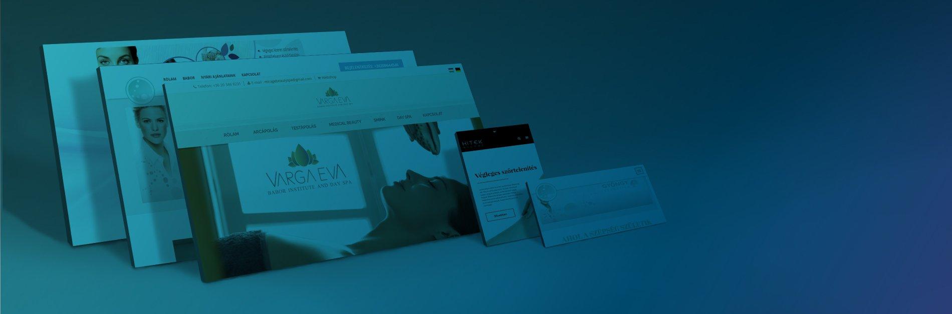 Weblap készítés slider