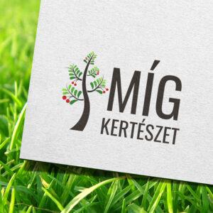Míg Kertészet logó