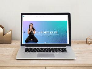 Kata Body Klub weboldal